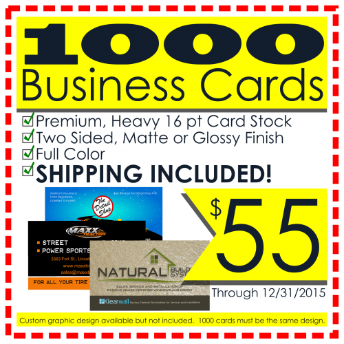 If you're not using the back of your card, you're wasting an inexpensive method to catch and keep your customer's attention.