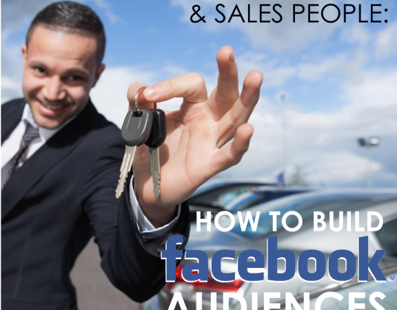 Facebook Sales and Marketing for Car Dealers and Auto Sales