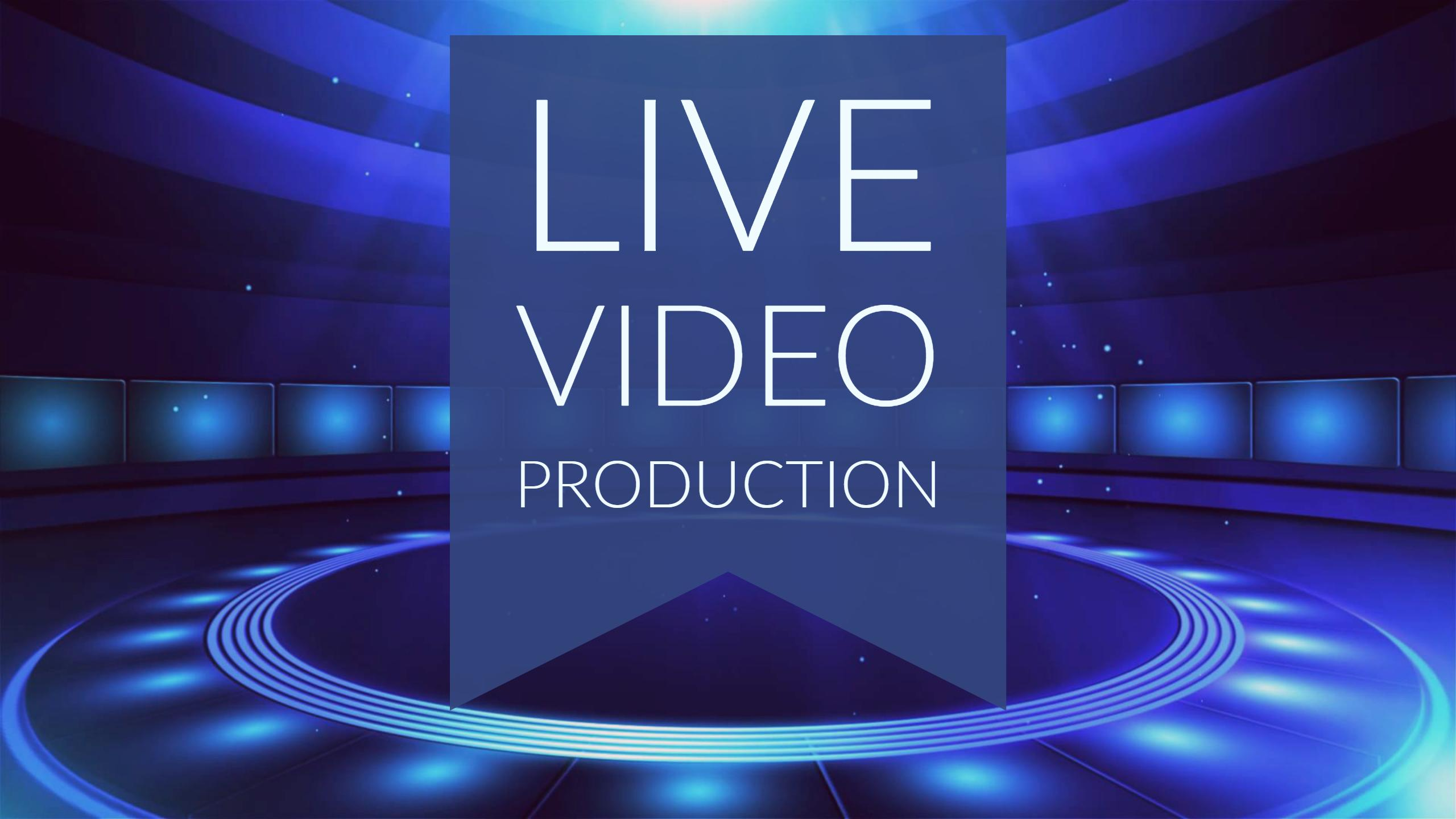 Live Video Production CTA