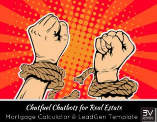 Simple Mortgage Calculator and Lead Generation for Real Estate using Chatfuel