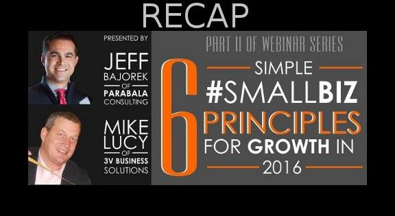 2016 Small Business Sales and Marketing Webinar - Reach Your 2016 Goals