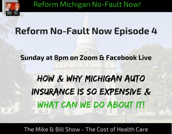Michigan No Fault Insurance on Facebook Live with Mike and Bill